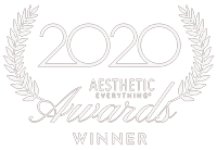 Aesthetic Everything awards 2020 winner logo