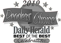 Reader's choice Daily Herarld celebration 2019 logo